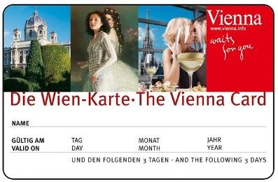Vienna Card. Венская карта