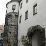 Регенсбург. Древнеримские ворота Porta Praetoria