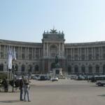 Императорский дворец Хофбург в Вене
