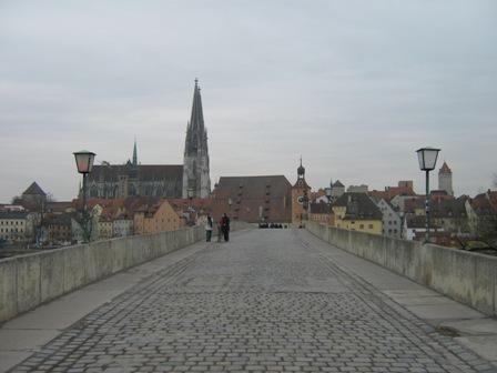 Каменный мост через Дунай