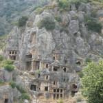 Древняя Ликия и уникальные ликийские гробницы
