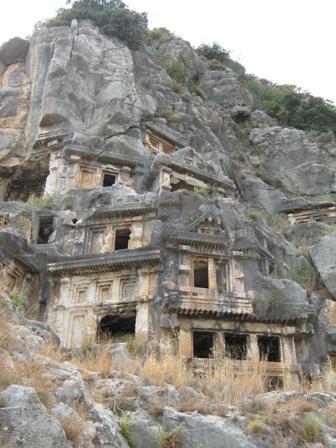 Ликия - чудо в скалах