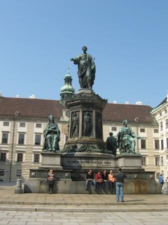 Памятник императору Францу