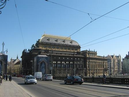 Прага. Национальный театр