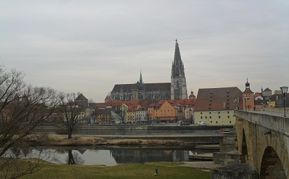 Регенсбург - сказочный баварский город