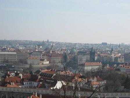 Прага. Вид на город