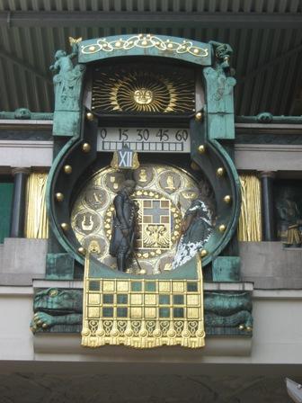 Вена. Музыкальные часы Анкерур