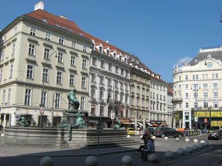 Вена. Площадь Hoher Markt