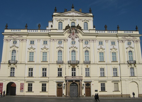Градчаны. Архиепископский дворец