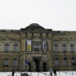 Дворцовый комплекс Цвингер в Дрездене