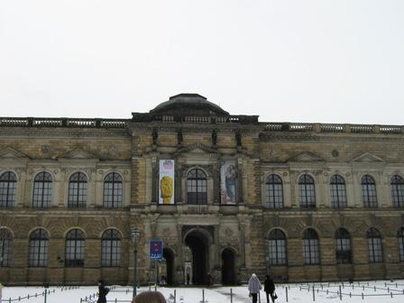 Дрезден. Архитектурный комплекс Цвингер.