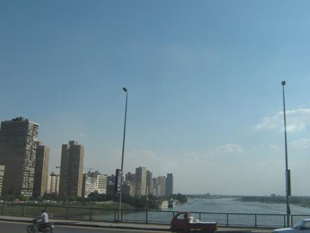 Каир - город на берегу реки Нил