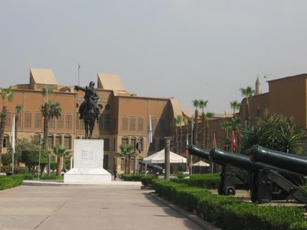 Каир. Национальный военный музей