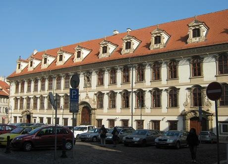 Мала Страна. Вальдштейнский дворец