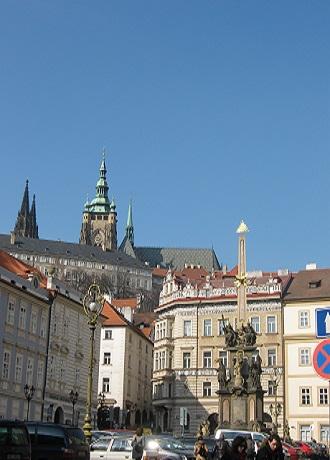 Мала Страна. Вид на Пражский Град
