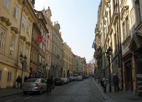 Мала Страна. Улица Нерудова
