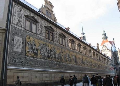 Мозаичное панно - Шествие королей