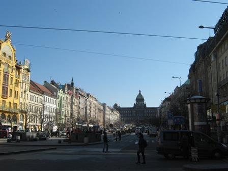 Нове Место. Вацлавская площадь