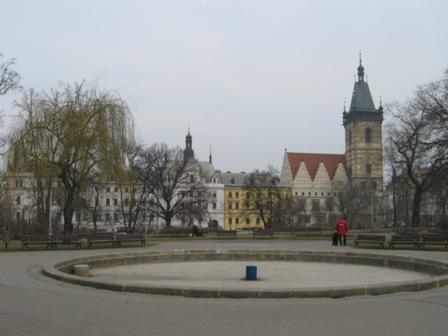 Нове Место. Карлова площадь