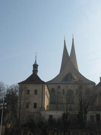 Нове Место. Монастырь На слованех (Эмаузы)