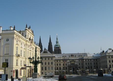 Прага. Градчаны