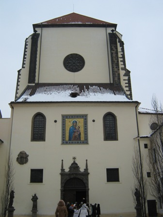 Прага. Костёл Панни Марии Снежной