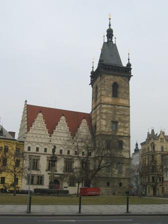 Прага. Новоместская ратуша