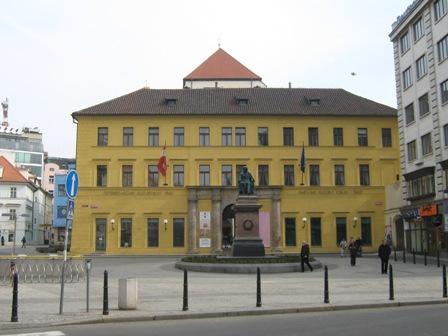 Прага. площадь Йозефа Юнгмана
