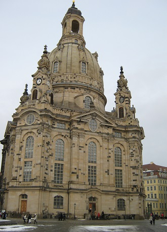 Фрауэнкирхе - протестантский храм Дрездена