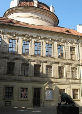 Штернбергский дворец. Внутренний двор