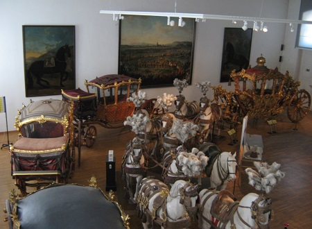Шёнбрунн. Музей транспорта