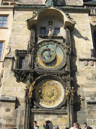 Орлой - астрономические часы в Праге
