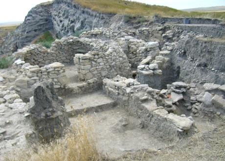 Остатки античной крепости Китей