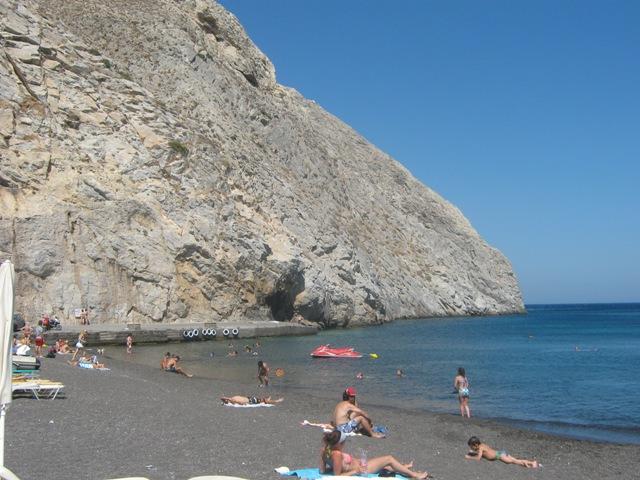 Санторини. Перисса - вулканический пляж