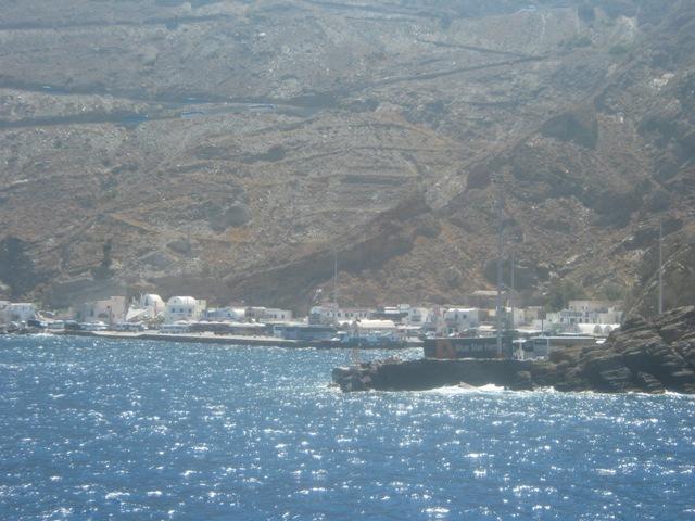Санторини. Порт Афиниос