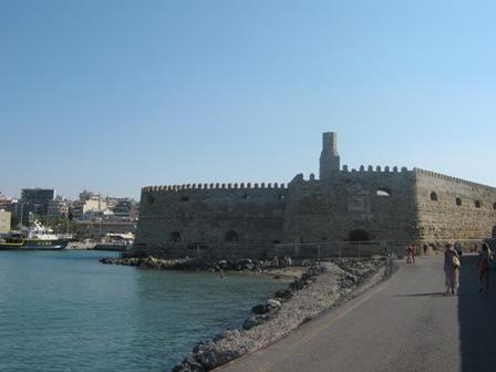 Крепость Кулес в Ираклионе