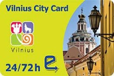 Вильнюсская карта скидок. Vilnius City Card