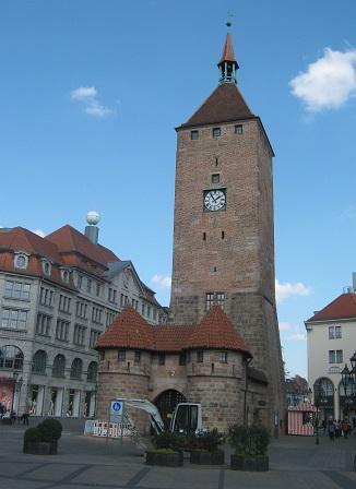 Нюрнберг. Белая башня