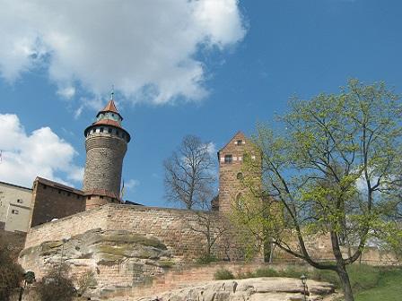 Нюрнберг. Императорский замок Кайзербург