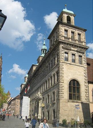 Нюрнберг. Старая ратуша
