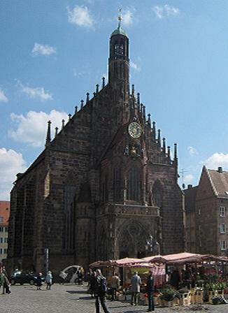 Нюрнберг. Церковь Девы Марии