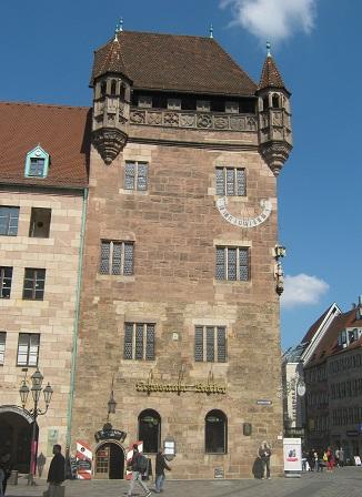 Нюрнберг. Дом-башня Нассау