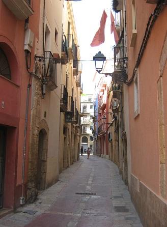 Таррагона - средневековые улицы