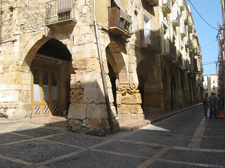 Таррагона - средневековый рынок