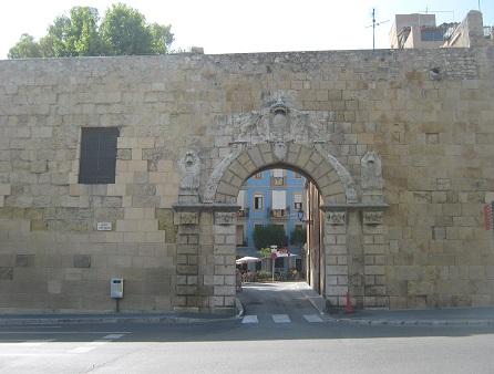 Таррагона - ворота св. Антония