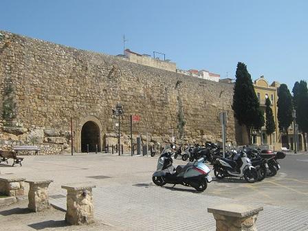 Тарргона - крепостные стены