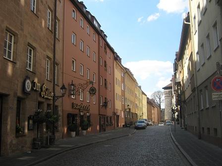 Улочки Нюрнберга