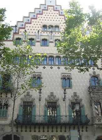 Дом Амалье. Барселона