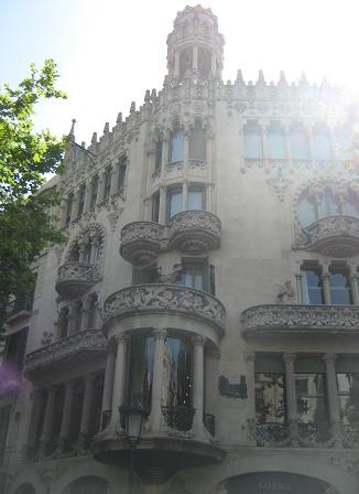 Дом Лео Морера. Барселона