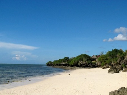 Кения. Пляжи Момбаса